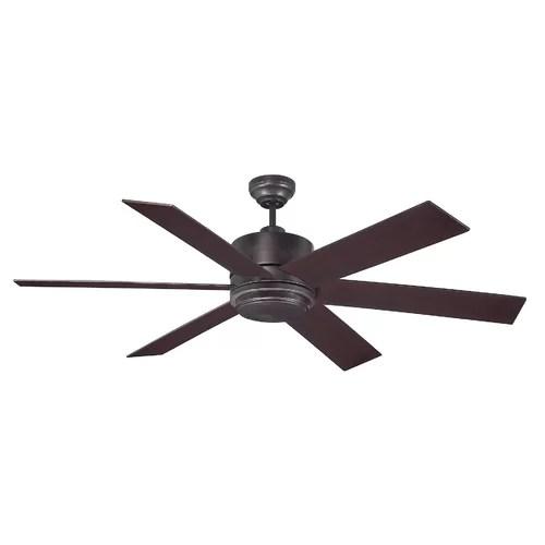60 Inch Bronze Ceiling Fan  Wayfair