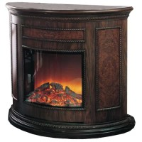 Yosemite Home Decor Wooden Electric Fireplace & Reviews ...