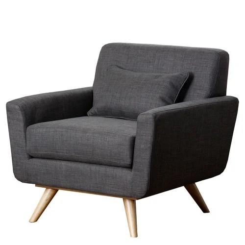 Abbyson Living Paisley Tufted Fabric Arm Chair  Reviews