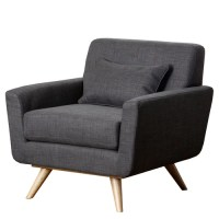 Abbyson Living Paisley Tufted Fabric Arm Chair & Reviews ...