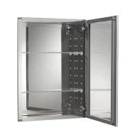 "Kohler 20"" W x 26"" H Aluminum Single-Door Medicine Cabinet ..."
