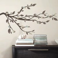 Room Mates 33 Piece Deco Mod Branch Peel and Stick Wall ...