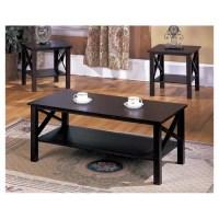 InRoom Designs 3 Piece Coffee Table Set & Reviews   Wayfair