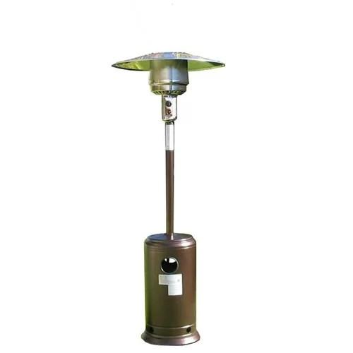 AZ Patio Heaters Tall Propane Patio Heater with Table I