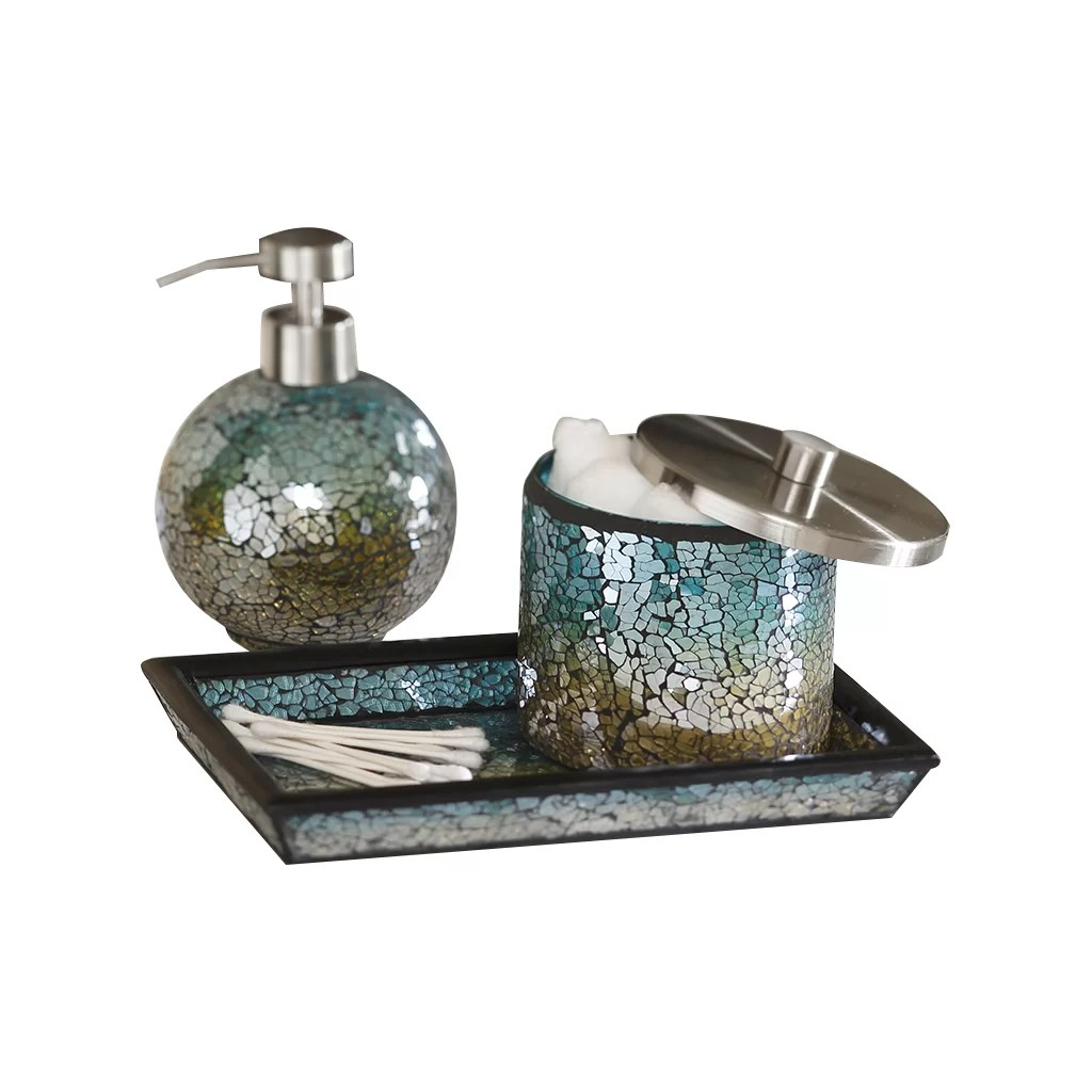 Superieur Mosaic Bathroom Accessories Sets