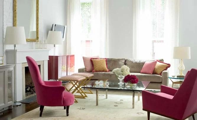 Elegant Living Room - Get The Look