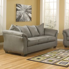 Signature Design By Ashley Harvest Sleeper Sofa Three Cushion Bed Slipcover Cost To Ship Furniture Triumph