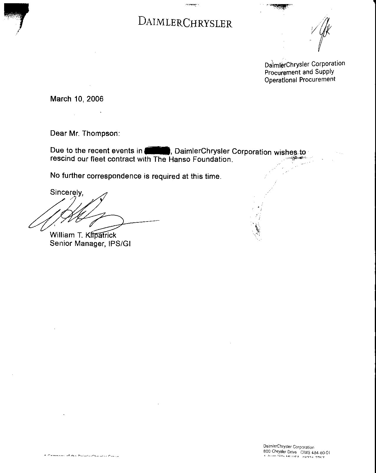 Employer Withdraw Job Offer Letter Template Docoments Ojazlink