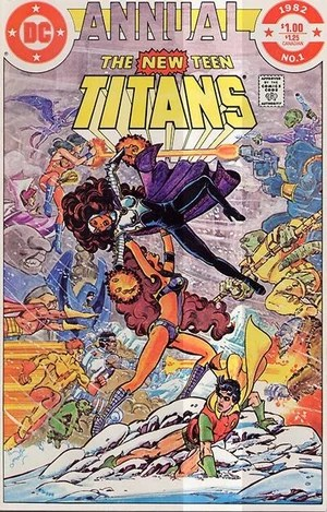 New Teen Titans Annual Vol 1 1  DC Comics Database