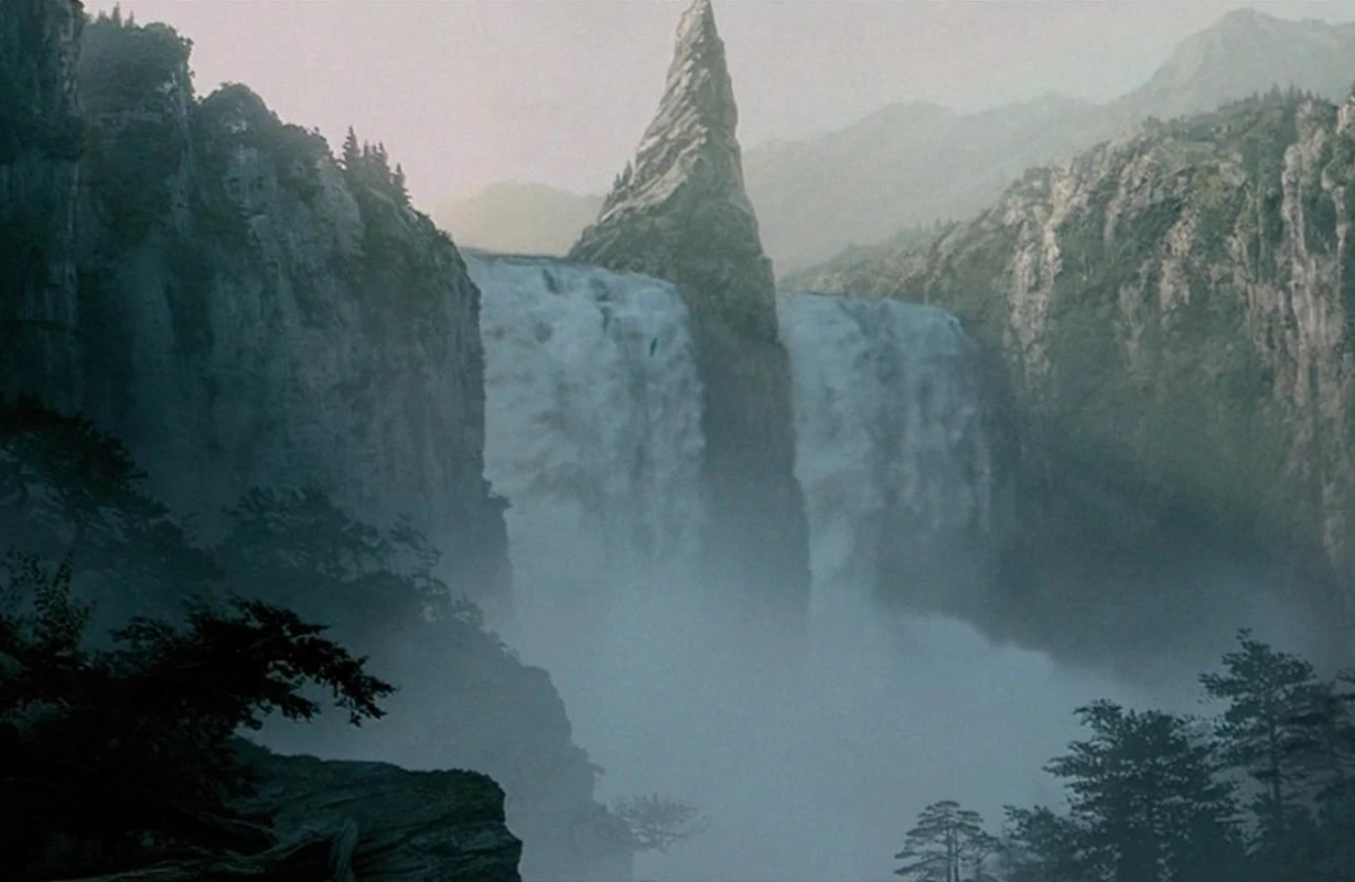 Lotr Falls Of Rauros Wallpaper Falls Of Rauros Lord Of The Rings Wiki