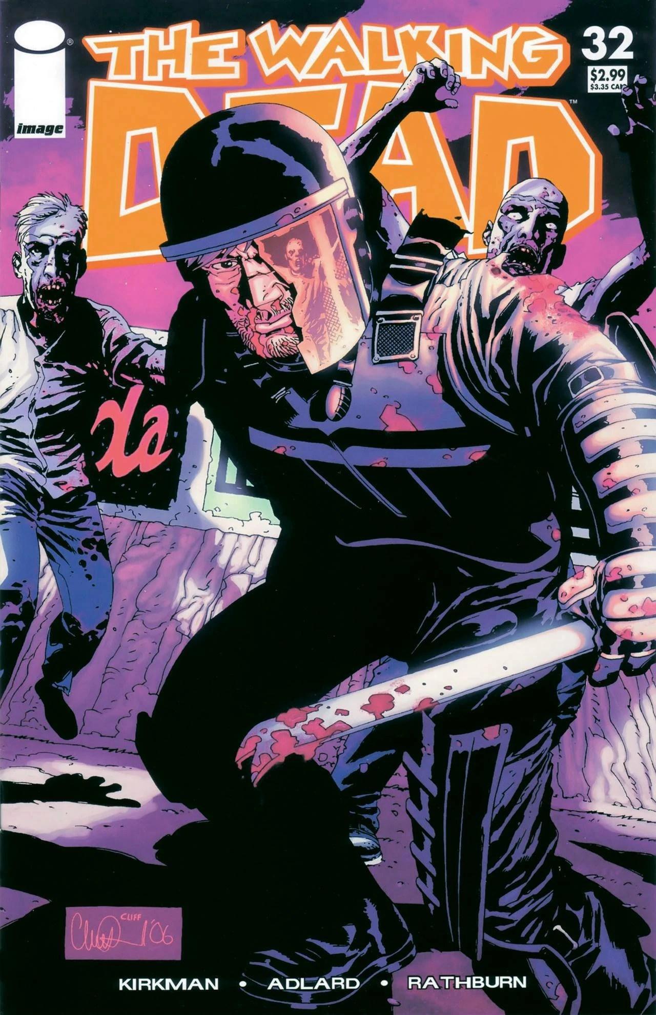 Issue 32  Walking Dead Wiki  Wikia