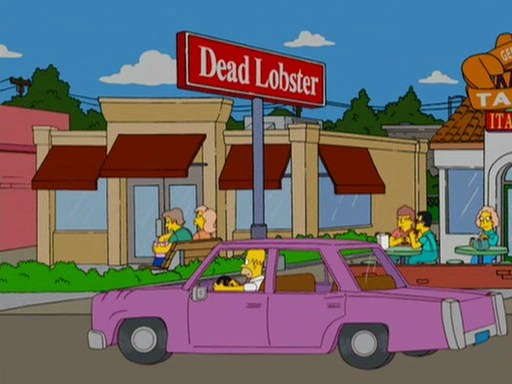 Dead Lobster  Simpsons Wiki