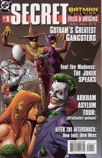 Batman Villains Secret Files and Origins Vol 1 1 - DC ...
