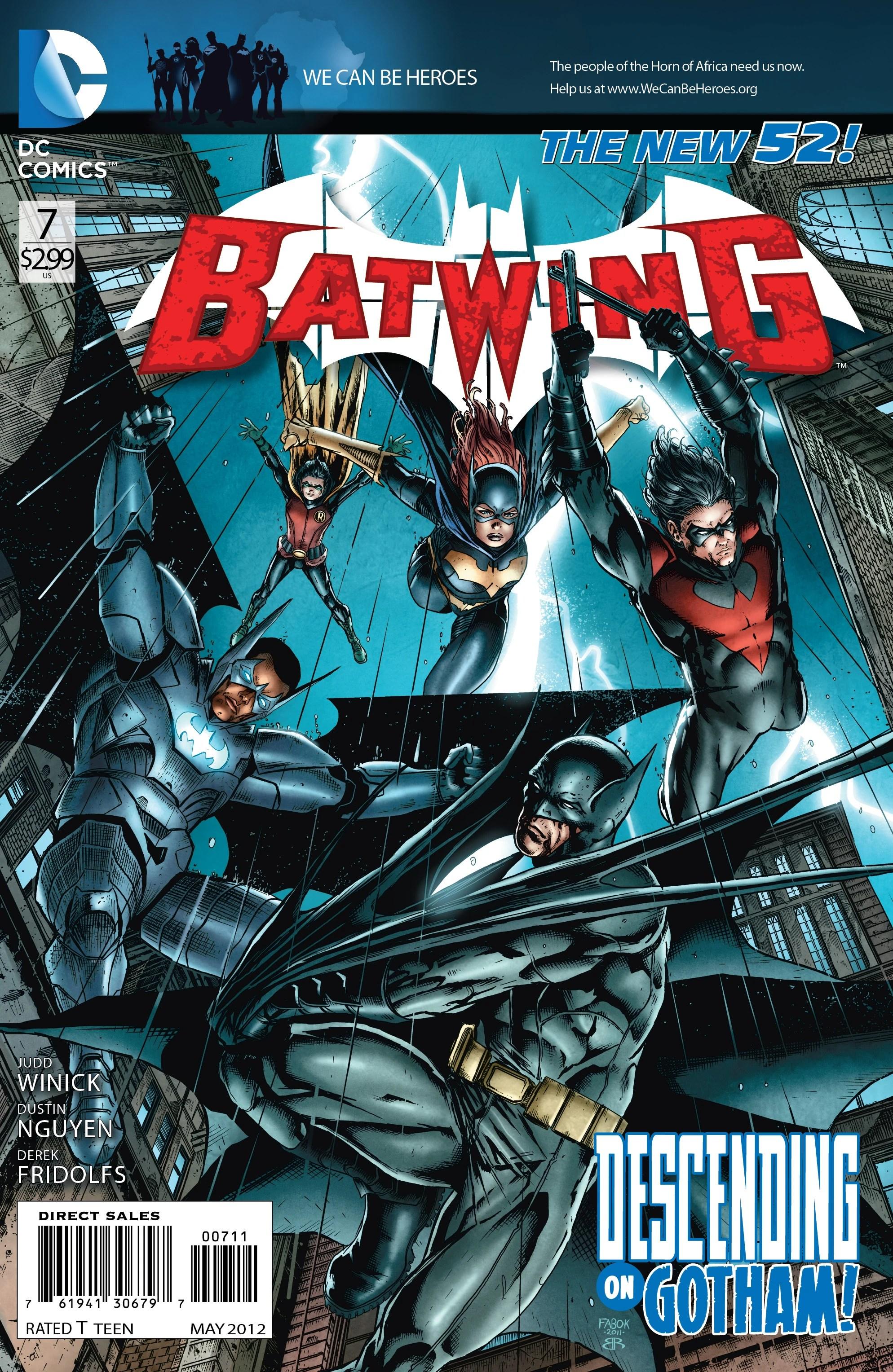 Batwing Volume 1  Batman Wiki