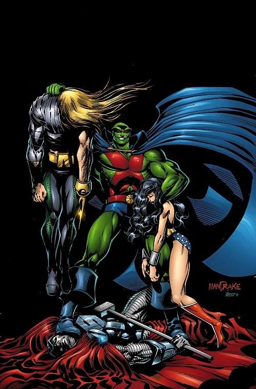Martian Manhunter Vol 2 6  DC Database  Wikia