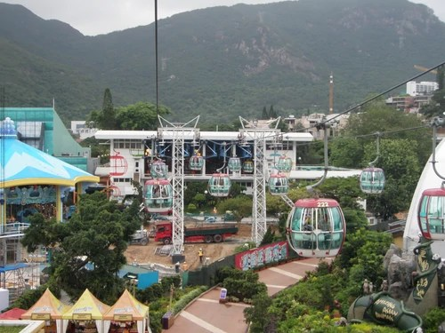 海洋公園纜車 - 香港鐵路大典