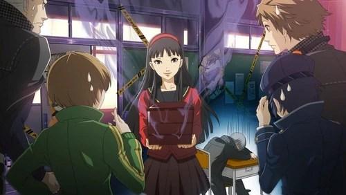 Persona 4 Cute Chie Wallpaper Image Yukiko Amagi Persona 4 Arena Story Mode