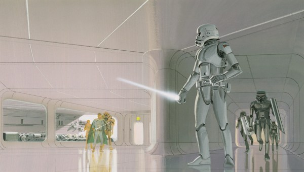 Star Wars Stormtrooper Concept Art