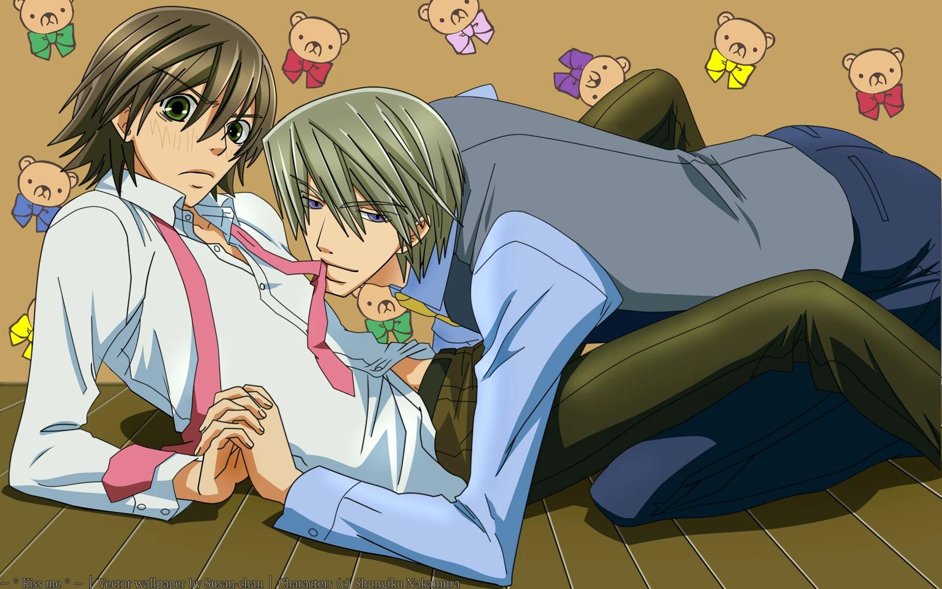 Kết quả hình ảnh cho Junjou Romantica anime