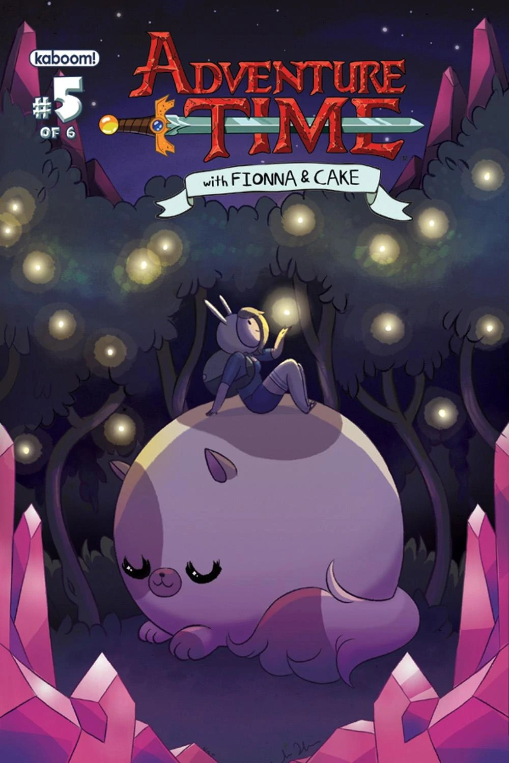 Adventure Time with Fionna and Cake Issue 5  Adventure