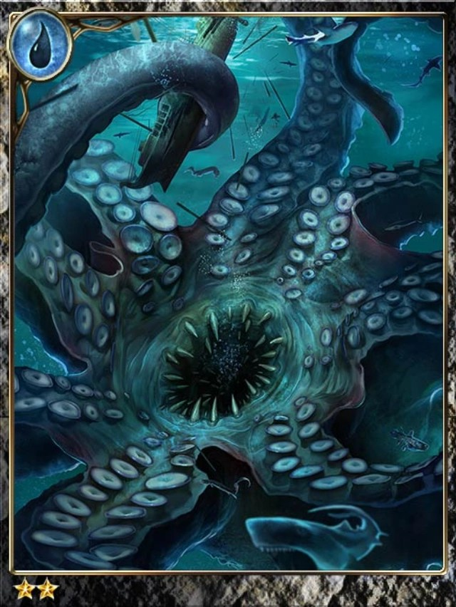 Excelling Legendary Giant Octopus Legend Of The