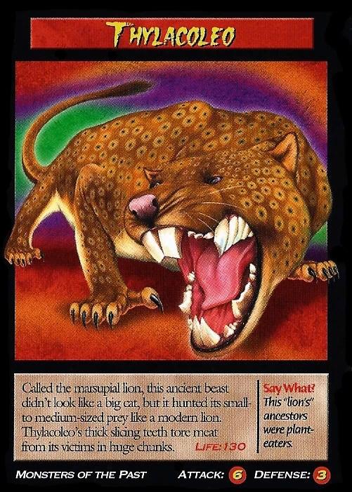 Thylacoleo  Wierd Nwild Creatures Wiki