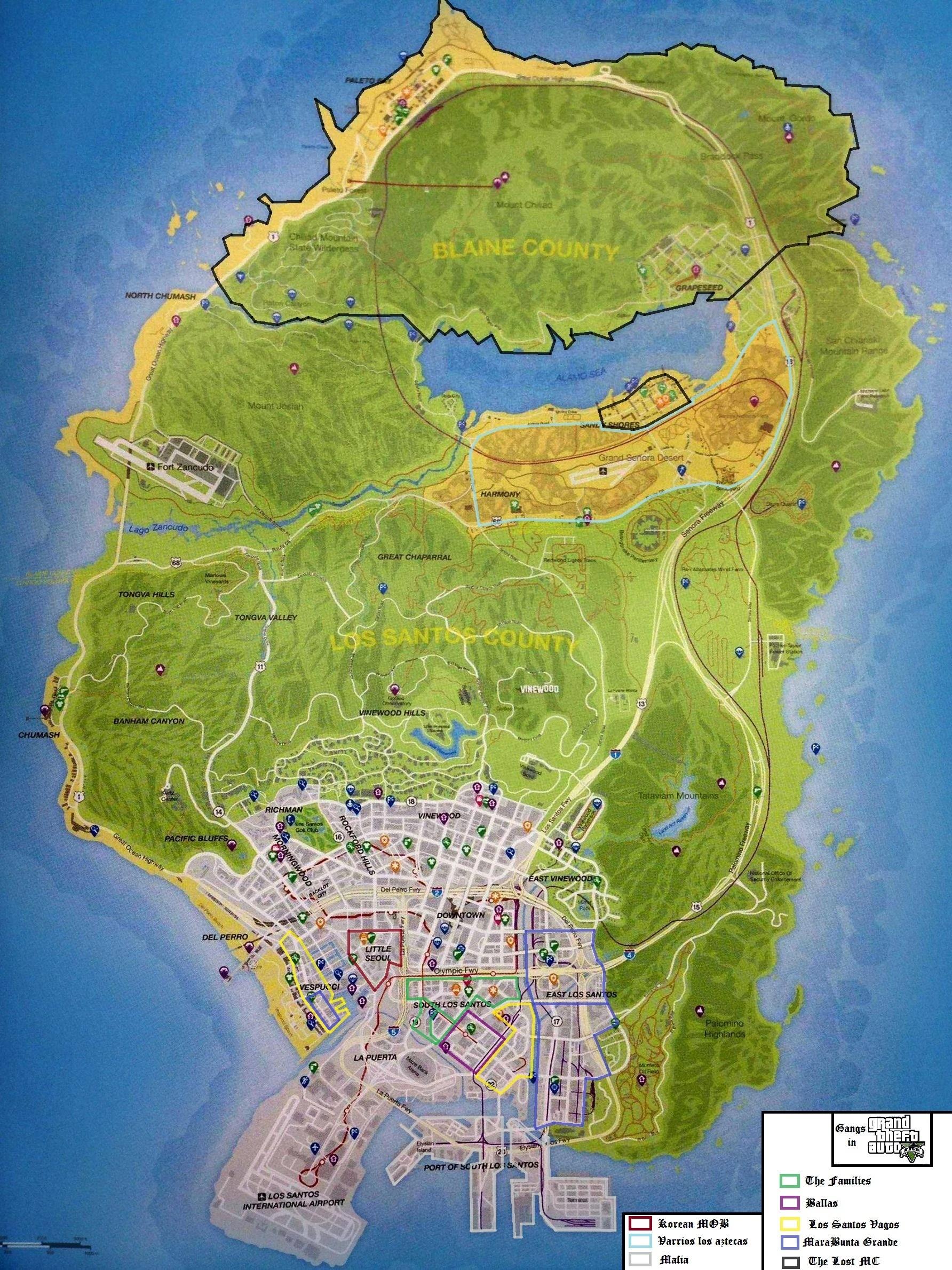 Gangs dans GTA V - Grand Theft Wiki