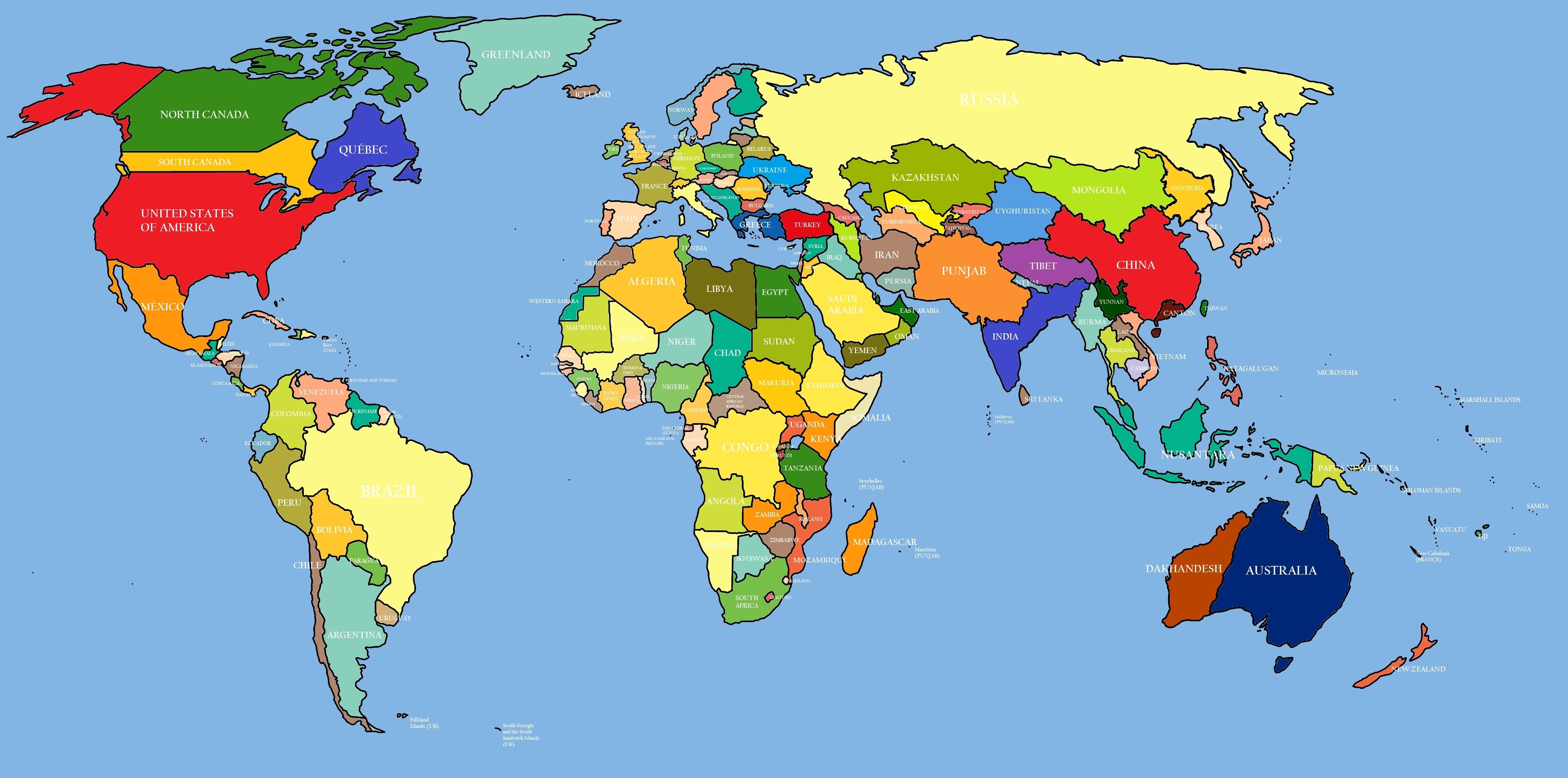 World Map | Maps of the World - World Maps