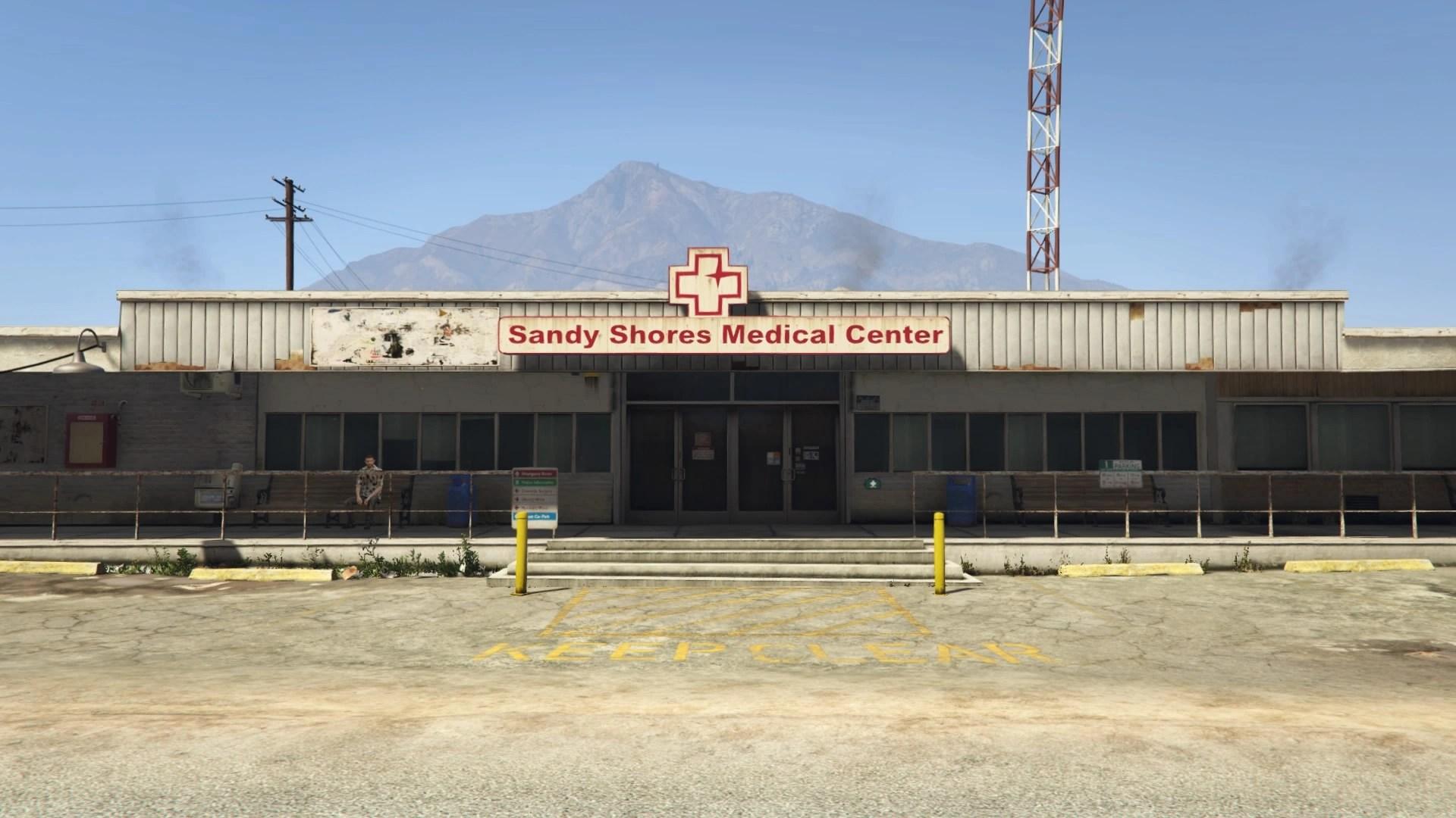 Sandy Shores Medical Center  GTA Wiki the Grand Theft