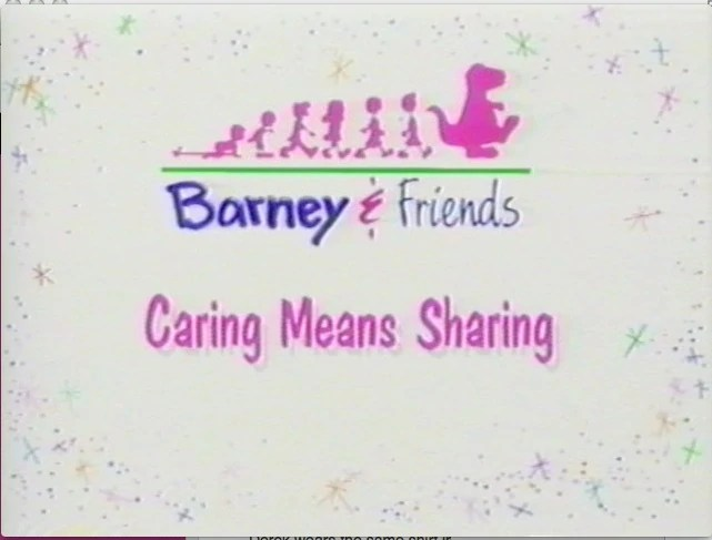 Sharing Means Caring Doll Barney