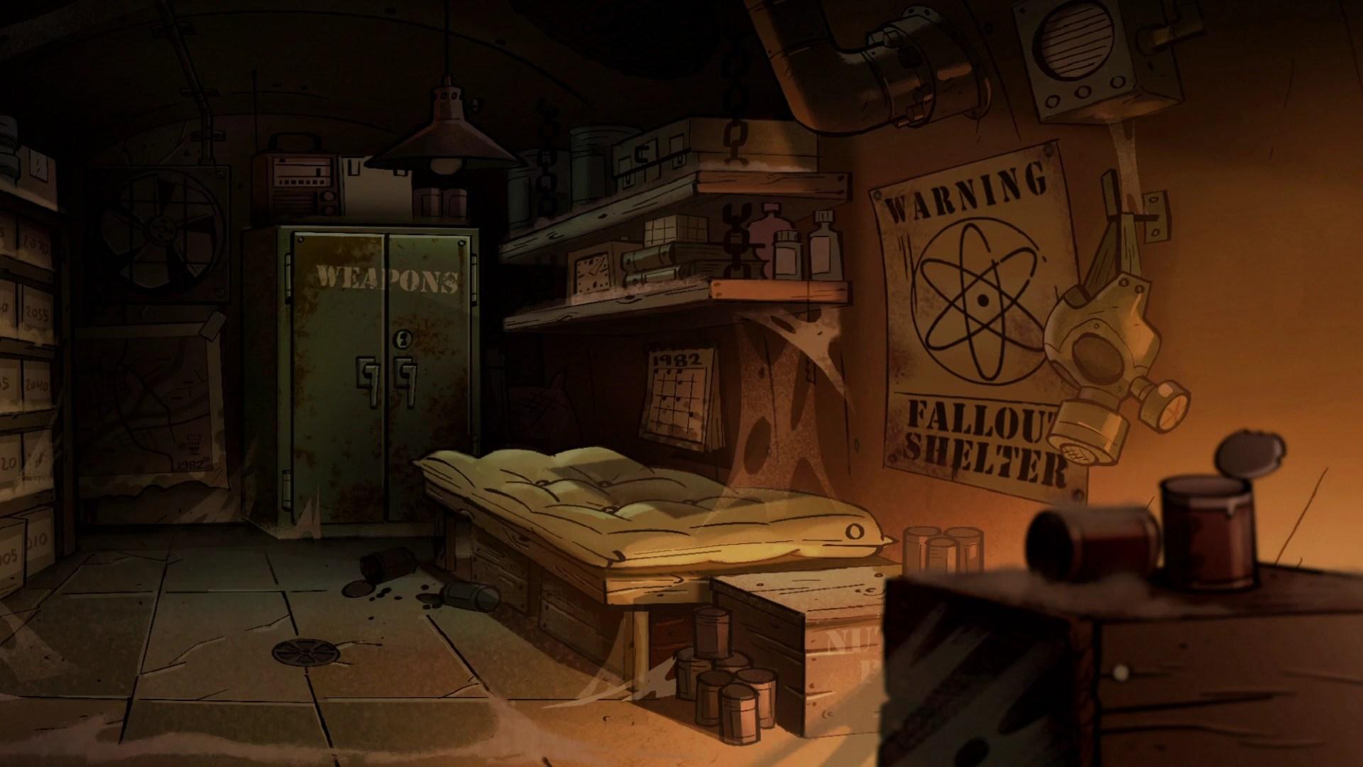 Soos Gravity Falls Wallpaper Bunker Gravity Falls Wiki