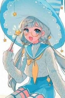 Anime Witch Girl Wallpaper 唯美动人手机壁纸 手机壁纸 我要个性网