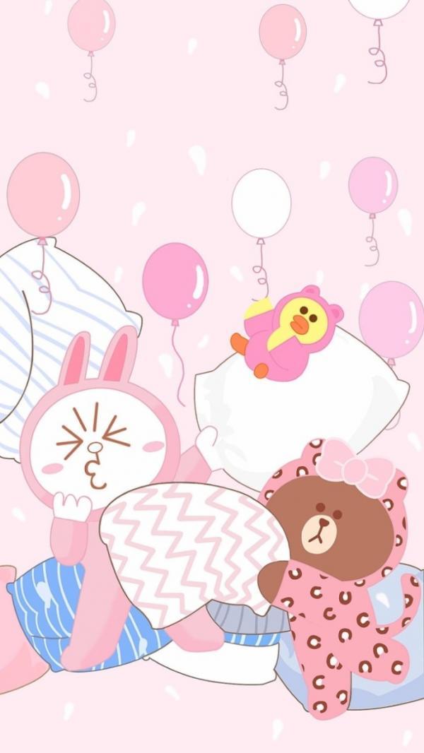 Iphone Wallpaper Rose 超级可爱的布朗熊和可妮兔图片 动漫图片 我要个性网
