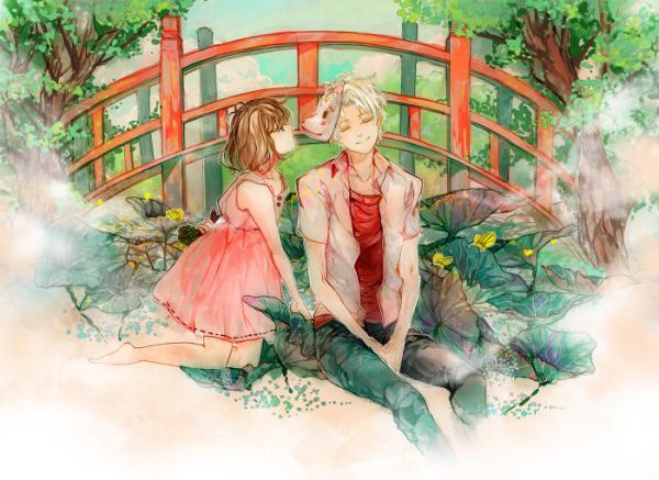 The Best Anime Wallpaper 萤火之森唯美动漫图片 动漫图片 我要个性网