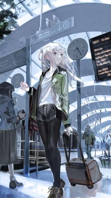 Green Anime Wallpaper 手机壁纸好评榜 我要个性网