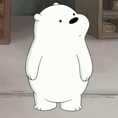 三只小熊 白熊寶寶_卡通動漫頭像_我要個性網