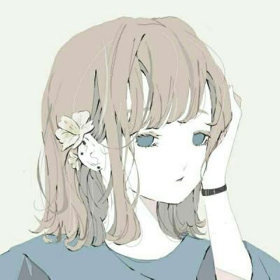 蘇柒:同系列動漫女頭手繪版_卡通動漫頭像_我要個性網
