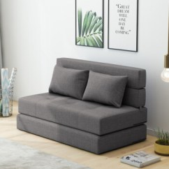 Sofa Bed In Sale Dump Old Shop Online For At Ezbuy Sg Foldable Living Room Small Huxing Two Person Three Fabric Washable Multifunctional Combination Tatami Japanese Style With Hard Thickening