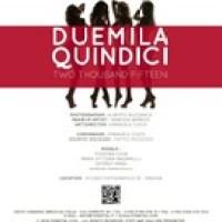 Teodora Ileva, Maria Vittoria Bagarella, Georgy Anna & Serena Farruggio - Calendario Fondital 2015