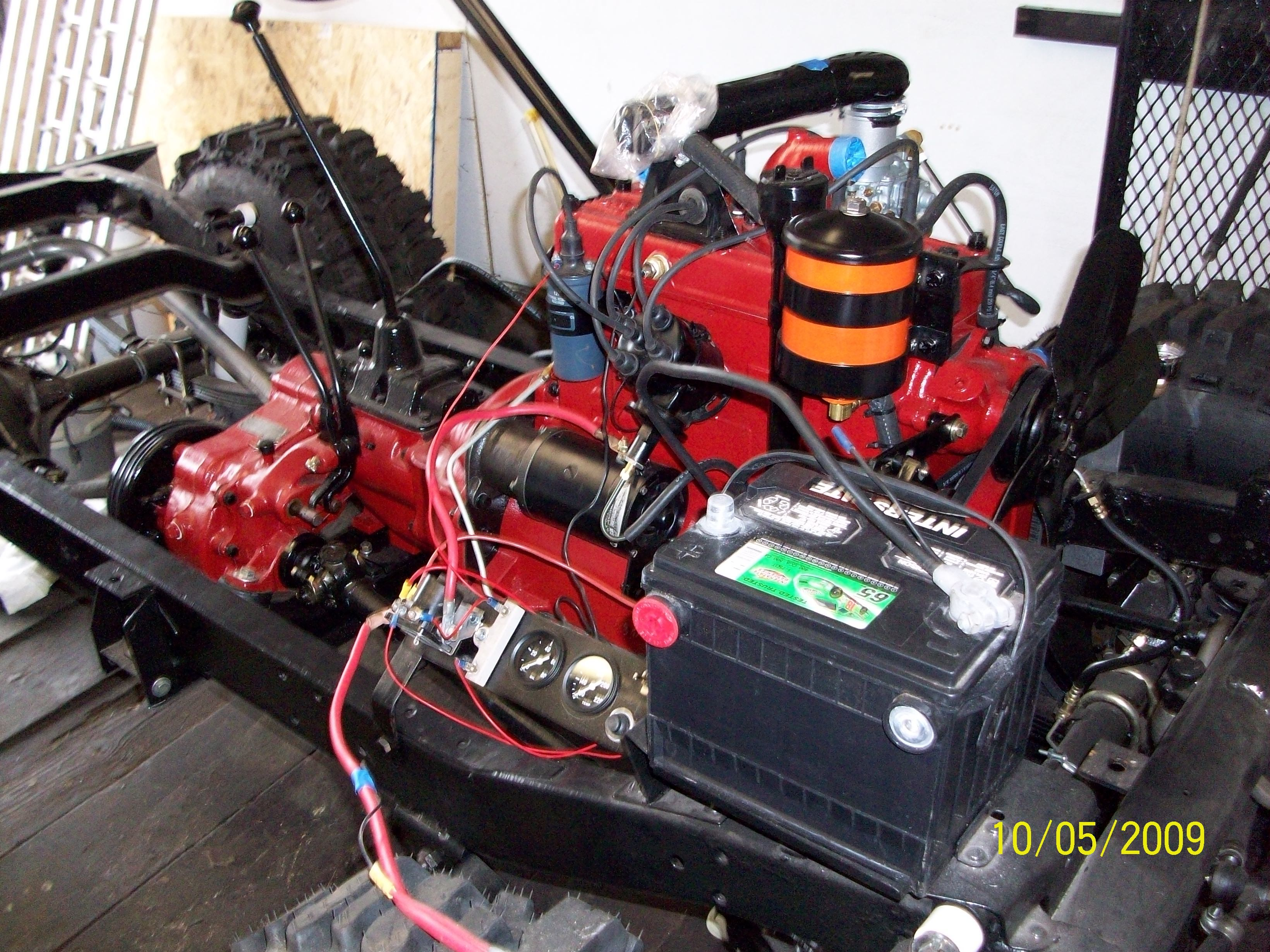 how to wire a ballast resistor diagram goodman heat pump defrost control wiring 1958 ford 861 tractor | for bodies only mopar forum