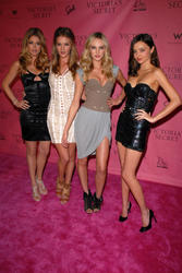 Doutzen Kroes, Candice Swanepoel, Rosie Huntington-Whiteley and Miranda Kerr