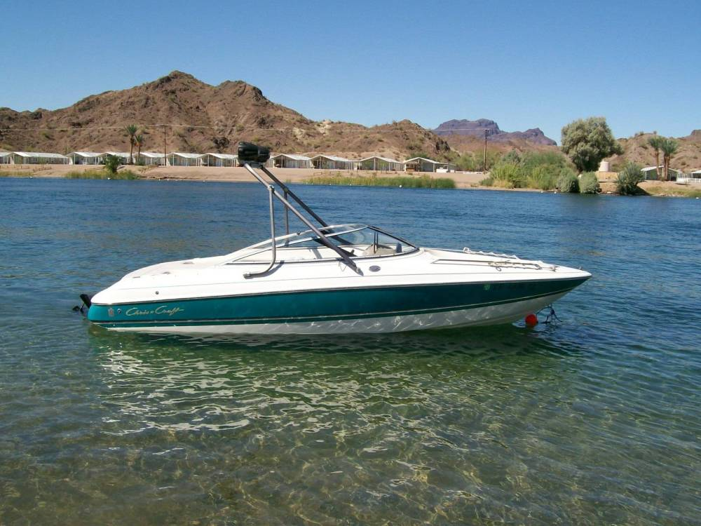medium resolution of heres a couple pics from the weekend at parker az got the boat and matching trailer with 310hrs for 3900 00 it was only used at big bear lake and