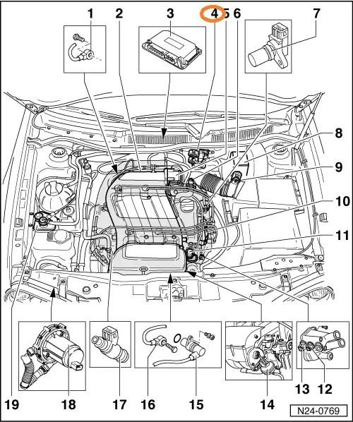 Ik woon in beweging vlucht: Golf 5 luchtfilter vervangen 4 1 6