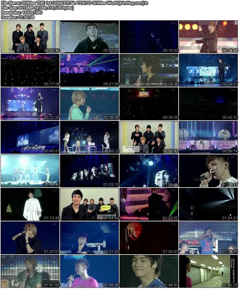 SHINee – The 1st Concert in Tokyo 'SHINee World' | cassiojyj