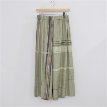 ONLY ONE WIDE PANTS LONG COTTON100% #ONLY ONE [17B038]] _ tamaki niime   玉木新雌