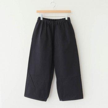 PEYTON COTTON PANTS #BLACK [A232161PP220] _ Atelier d'antan   アトリエダンタン