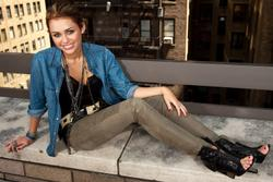 Miley Cyrus - Portrait Session in New York City - Hot Celebs Home