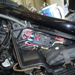 2000 Suzuki Intruder 1500 Wiring Diagram Rockford Fosgate Capacitor Installed An Accessory Fuse Block - Page 5 Volusia Forums : And ...