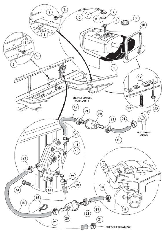 Gas Club Car Wiring Diagram, Gas, Free Engine Image For