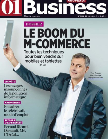 01 Business N°2164 - 28 Mars 2013